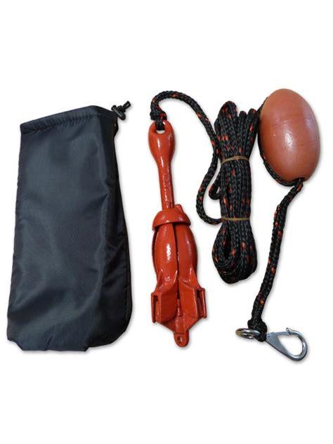 boat anchor kits uk folding anchor kits kayaks canoes dinghy boats chain rope