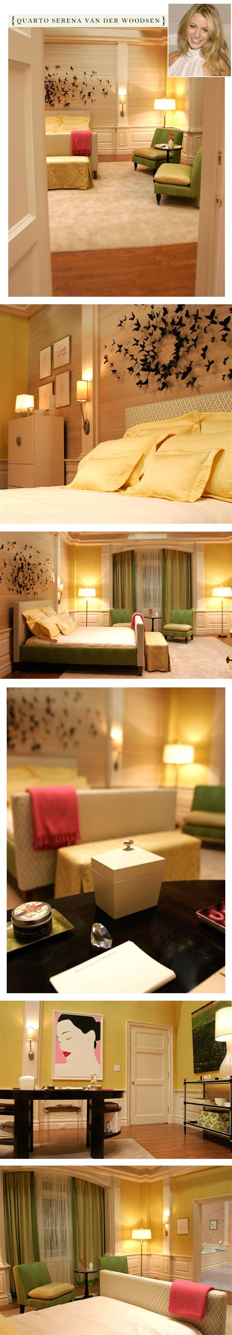 serena van der woodsen bedroom the sets on quot gossip girl quot