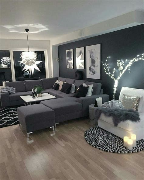 gray and black living room pinterest thephotown magazine lifestyle lille salon
