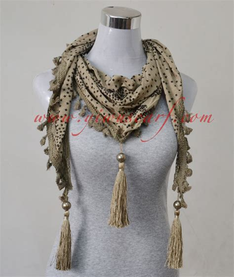 lace triangle scarves jewelry china scarf