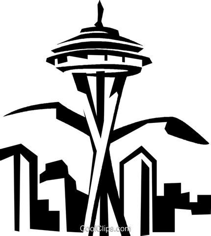 tattoo needle png seattle space needle livre de direitos vetores clip art