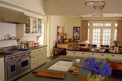somethings gotta give house gender and food week trophy kitchens in two nancy meyers