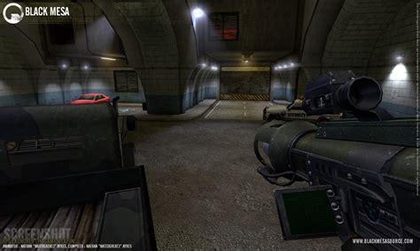 black mesa mod game engine video trailer half life 2 black mesa mod official