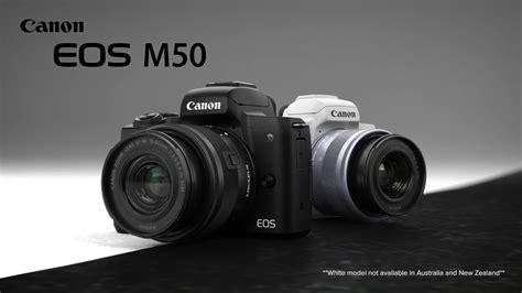 look canon eos m50 mirrorless
