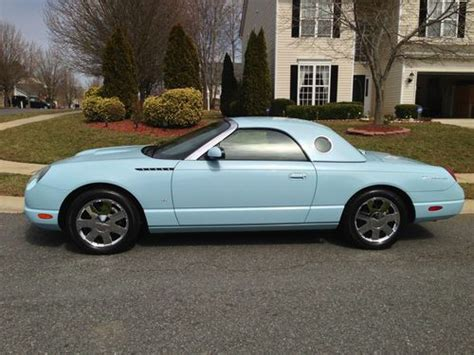 how things work cars 2003 ford thunderbird instrument cluster buy used 2003 ford thunderbird premium convertible 2 door 3 9l 130a package in charlotte north