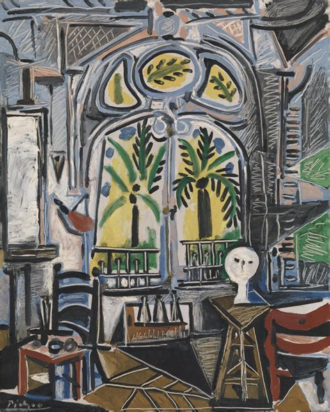 Interior Paints For Home by The Studio Pablo Picasso Tate