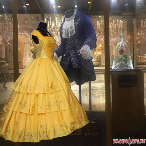 2017 Movie Beauty and The Beast Princess Belle Dress Deluxe Costume