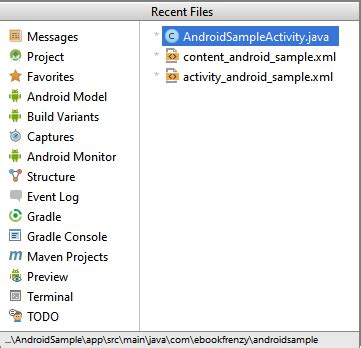 android studio gui tutorial pdf a tour of the android studio user interface android 6
