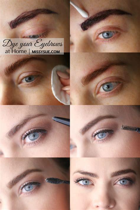 how to color eyebrows diy summer brows s world dyed hair dye eyebrows