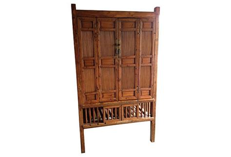 antique bamboo cabinet omero home