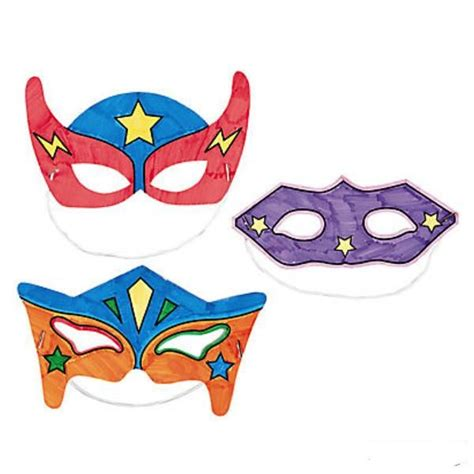 printable heroes mask 25 best ideas about super hero activities on pinterest