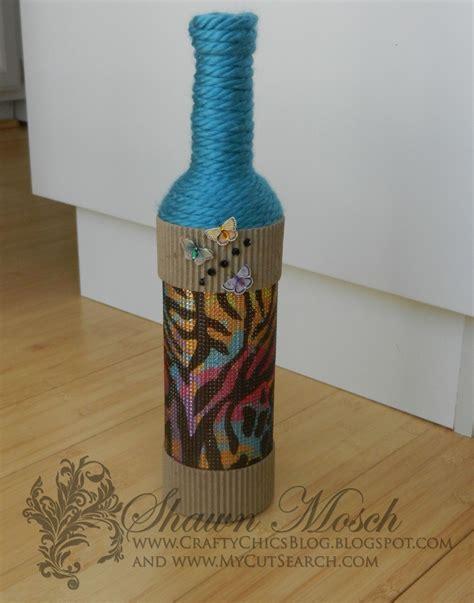 wine bottle l diy rhinestone embellished diy wine bottle craft favecrafts com