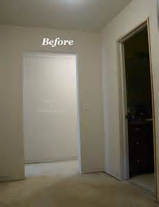 Wainscoting Ideas For Hallway - before amp after lots of moldings in a small room the joy of moldings com