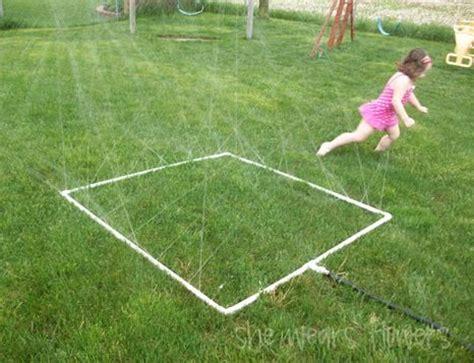 backyard sprinkler savor the summer