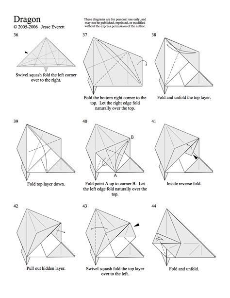 Origami Patterns Pdf - origami in progress