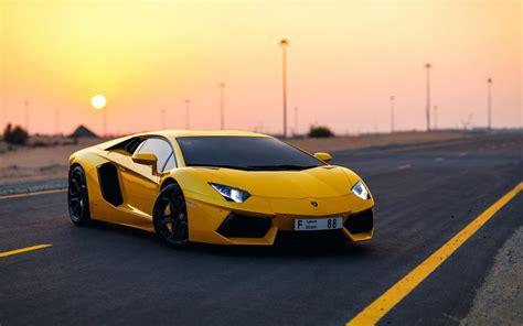 Lamborghini In Yellow Car Yellow Lamborghini Aventador Hd Wallpaper By Silar91