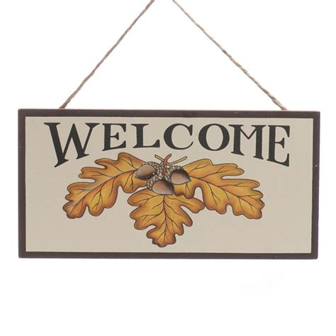 crafts direct for the holidays welcome to autumn quot welcome quot sign wall decor and signs fall and