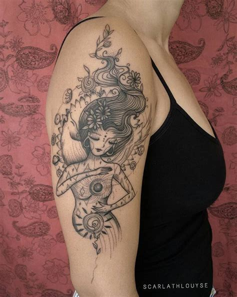 moon goddess tattoo best 25 goddess ideas on sternum