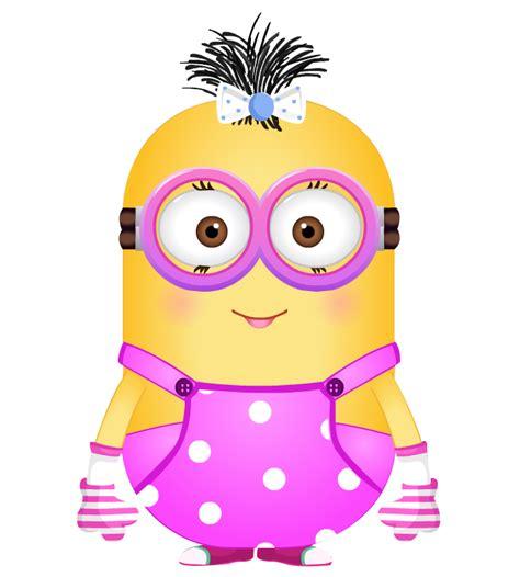 imagenes de minions rosa minions 51 menina rosa png 700 215 778 pinteres