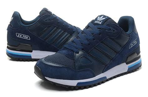 Adidas Zx Sepatu Sneaker Casual Running Sport adidas uk adidas zx 750 casual running shoes blue white in orleans selling