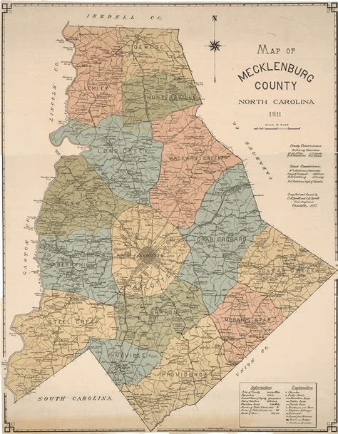 Mecklenburg County Search Antique Map Of And Mecklenburg County