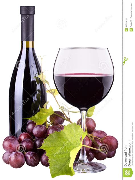 Imagenes De Uvas Y Copas | uvas copa de vino y botella maduras de vino imagen de