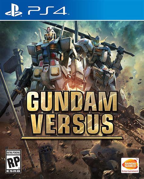 Ps4 Gundam Versus Reg 3 gundam versus version ps4 home