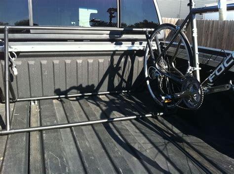 Truck Bed Bike Rack Plans by Pvc Truck Bed Bike Rack All