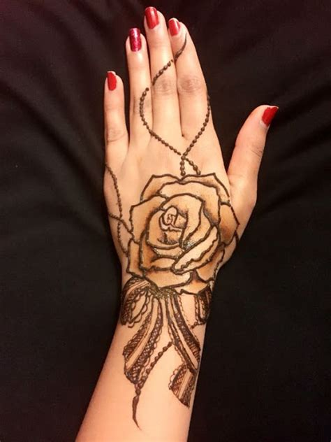rose henna tattoo 10 stunning mehndi designs for all occasions bling