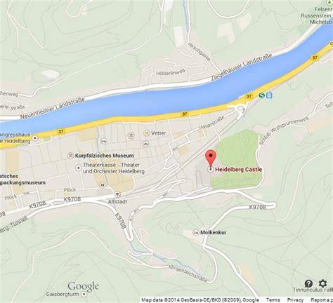 map heidelberg germany heidelberg castle map gallery