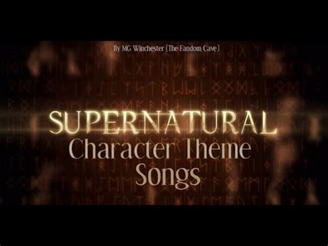 theme song lucifer supernatural character theme songs youtube
