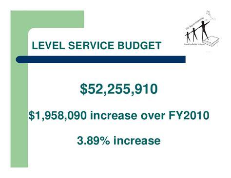 Goodman School Of Business Mba Fees by Fy 2011 Franklin Ma Schools Exec Summary Budget