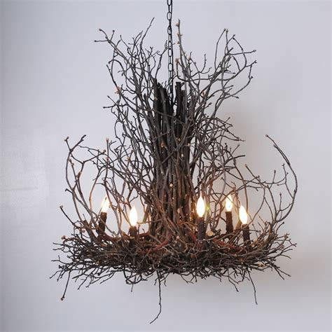 Twig Chandelier 17 Best Ideas About Twig Chandelier On Branch Chandelier Unique Chandelier And