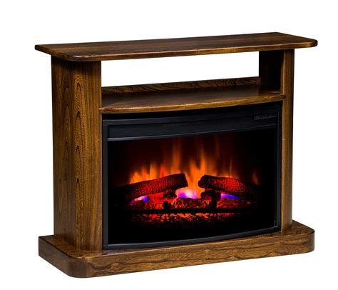 Amish Electric Fireplace Lancaster Electric Fireplace From Dutchcrafters Amish Furniture