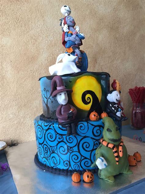 Nightmare Before Baby Shower Cake by Nightmare Before Baby Shower Cake Cakes By
