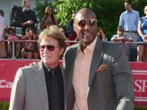 whats the deal with bruce jenner bruce jenner hangs with lamar odom describes son in law