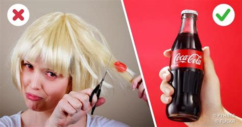 can soda such as cola color your hair coca cola hacks you probably didn t know about
