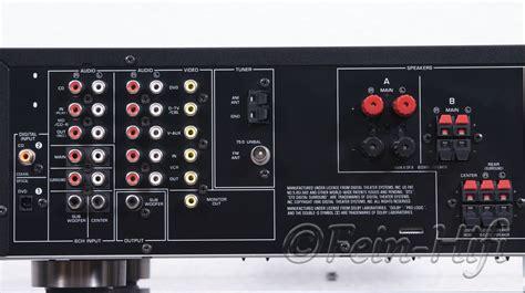 yamaha rx  dolby digital  heimkino av receiver