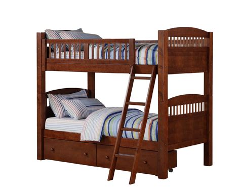 bunk beds sears dorel home furnishings bunk bed walnut sears outlet