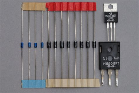 what are power diodes used for schottky diode