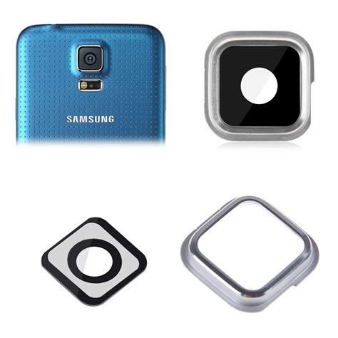 lens for galaxy s4 back rear lens glass frame gasket ring for samsung
