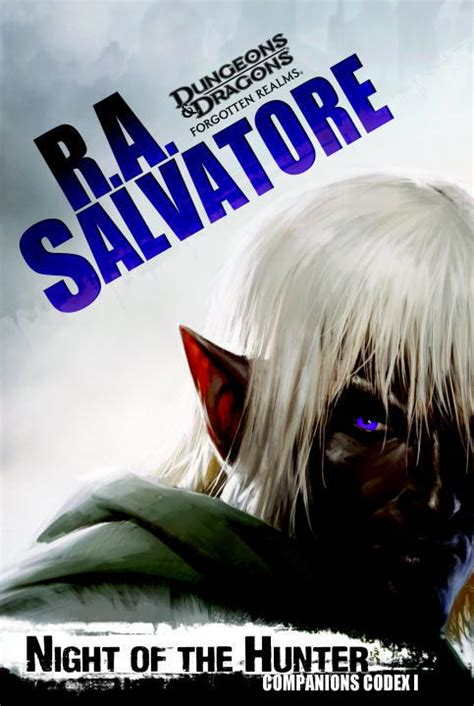 night of the hunter by r a salvatore mass market paperback booksamillion com books