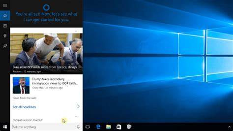 tutorial on microsoft windows 10 windows 10 lesson 13 cortana top windows tutorials
