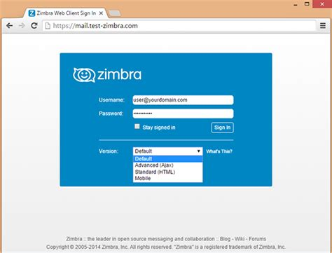 zimbra email collaboration