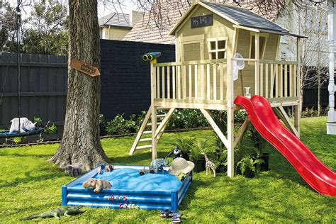 better homes and gardens backyards four diy backyard playground ideas for you to try better