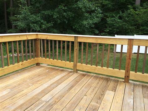 diy railing diy deck railing design bring your deck back to