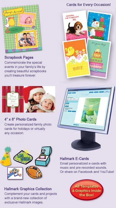 hallmark card studio templates hallmark card studio 2012 software greeting card