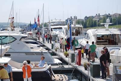 bay harbor boat show visit petoskey michigan bay harbor michigan in water