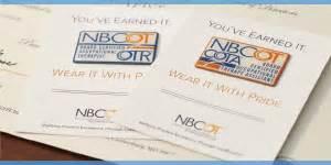 nbcot certification letter certificants