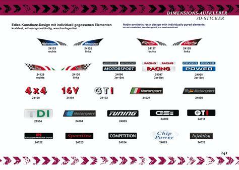 Aufkleber Ford Motorsport by Aufkleber